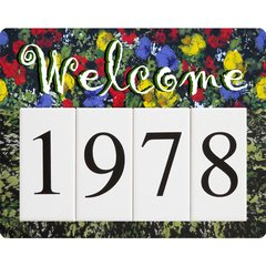 Monet Welcome Address Board Small