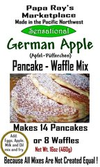 Papa Ray's German Apple Pancake and Waffle Mix