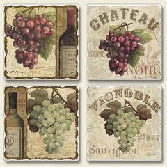 Chateau Absorbent Coaster Set