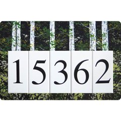 Birch Address Board Large