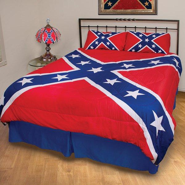 Rebel Flag 3 Piece Comforter Set Dl Grandeurs