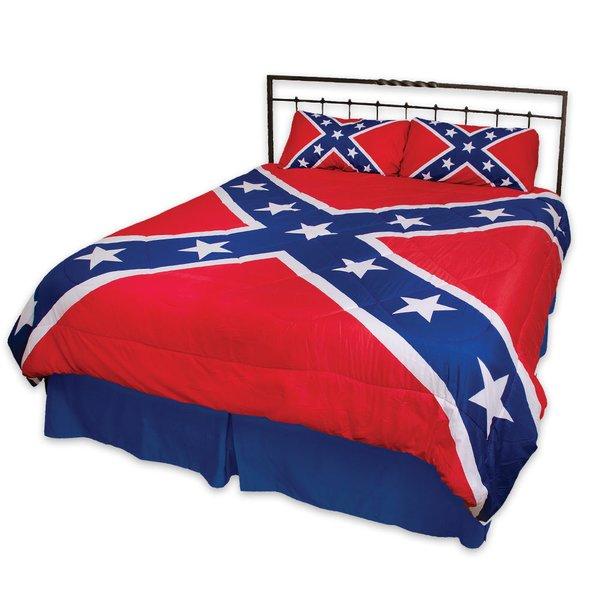 Rebel Flag 3 Piece Comforter Set Dl Grandeurs Confederate Amp Rebel Goods