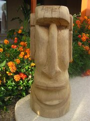Easter Island Bust