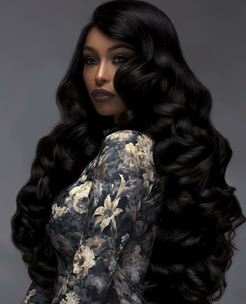 Pretty cambodian body wave extensions bundle deals for African photoshoot ideas