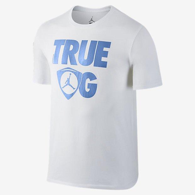Jordan 14 true og t shirt white legend blue pure fire for Kicks on fire t shirt