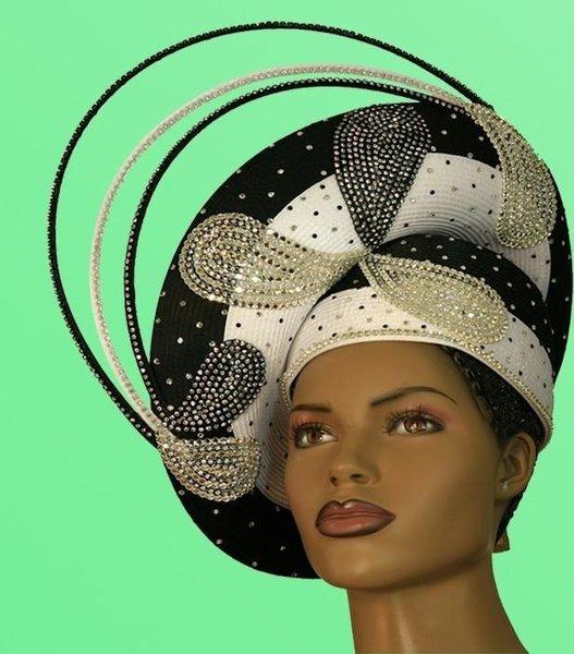 George Zamaul Hats Classic Look Wedding Hat Church Hats