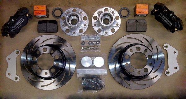 F Body Strange Pro Race Steel Front Brake Kit Midwest