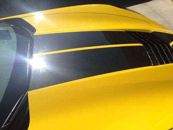 Vfx 1703 C7 Split Stinger 2 Hood Stripe Vettefx