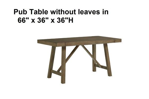 16680 6 Piece PUB HEIGHT Dining Room Set TABLE4SIDES  : OTdERDA1NzU3NzQwNDk4MzgwM0U6MDFmODdlMTdjOTZkMjgwY2QwYzg4MGI3YzllMDc0Zjc6Ojo6OjA from discountfurnitureyard.com size 600 x 400 jpeg 18kB