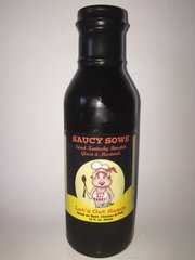 Saucy Sows Sweet Kentucky Bourbon Glaze & Marinade 12 oz