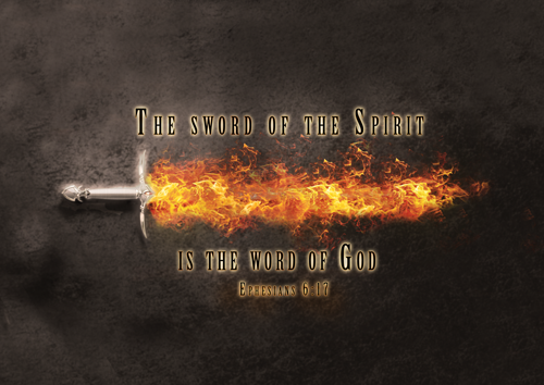 The Sword Of The Spirit Indy Hammered Knives Hand
