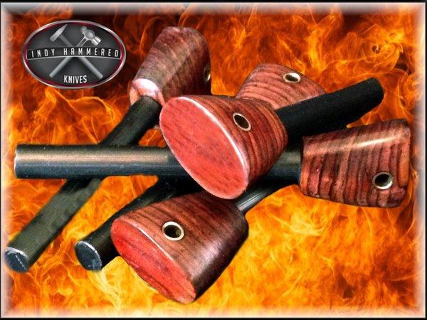 Ferrocerium Rod S Fire Steel Fire Starter Indy Hammered