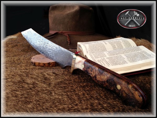 The Sword of the Spirit   Indy Hammered Knives - Hand ...