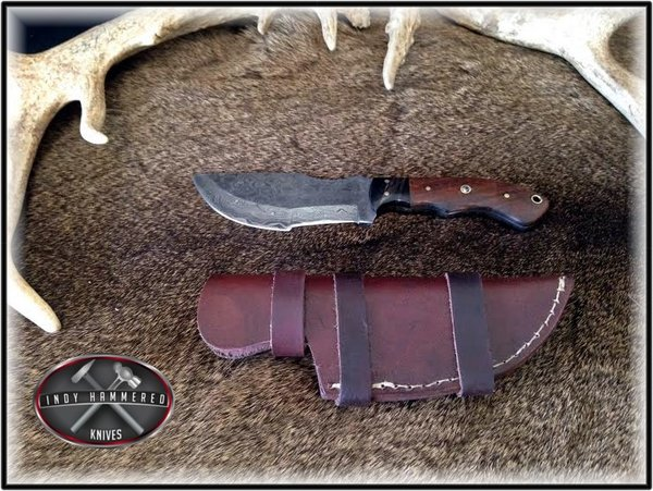how to make your own tracker knife