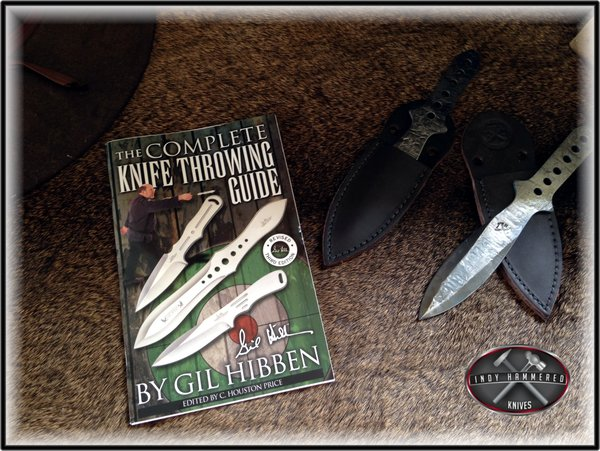 Gil Hibben Throwing Guide   Indy Hammered Knives - Hand ...