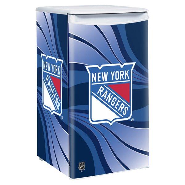 New York Rangers Counter Height Fridge CollegeFanCave
