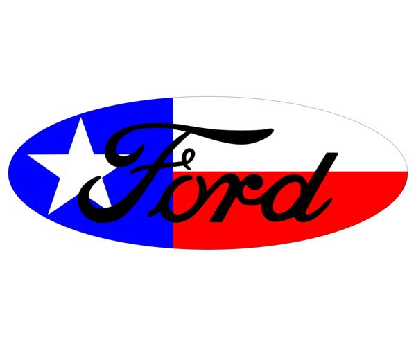 Ford Texas Flag Overlay Set F 150 F 250 F 350 Focus Edge