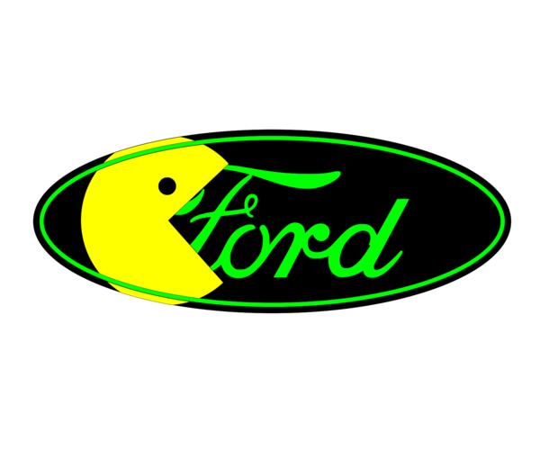 Ford Pacman Emblem Overlay Set F 150 F 250 F 350 Focus