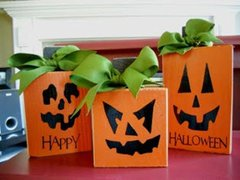 Pumpkin Trio Blocks - Full Kit