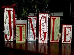 Celebration Blocks - 6 Letters - Full Kit