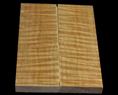 Stock Curly Maple Scale Sets - .375 x 1.75 x 5""