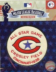 1938 All Star Cincinnati Reds Sleeve Patch Official Jersey Logo