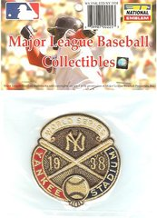 1938 World Series Sleeve Patch Official MLB Licensed Yankees over Cubs