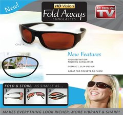 Hd Vision Fold Aways Sunglasses