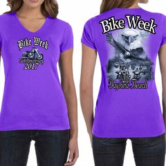 Bike Week Daytona Beach 2017 Ladies 016 Eagle Tshirt