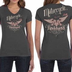 Motorcycle Madness Ladies 002 T-Shirt