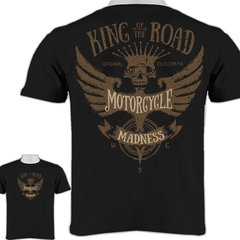 Motorcycle Madness King of the Road Men's T-Shirt