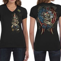 Bike Week Daytona Beach 2017 Ladies 031 All American Love T-Shirt