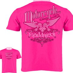 Motorcycle Madness Ladies 003 T-Shirt