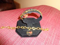 Charm Bracelet Gold Plated (4mm) - 7 Inch