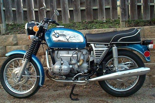 Bmw R50  5 R60  5 R75  5 1972