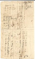 [Pitkin Falls, Fulling Mills] French & Indian War Col. Pitkin Signs 1756 Receipt