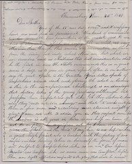 1843 Spiritual Letter Speaks of Temptations and the Need to Overcome them