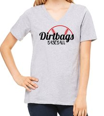 Dirtbags Baseball V-Neck