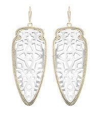 Kendra Scott Sadie Earrings in Gold and Silver