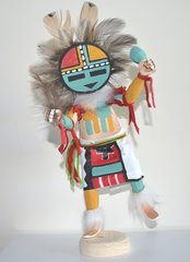 Sunface Kachina Doll Made in America - 40% OFF