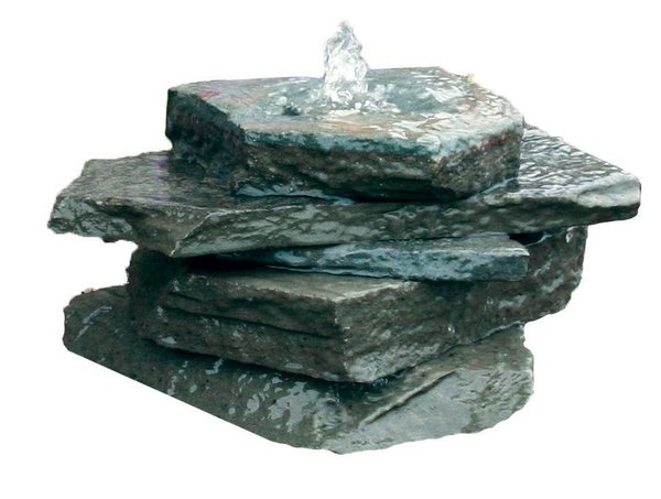 Aquarock blue stone kit water garden pond supplies for Garden fountain filters