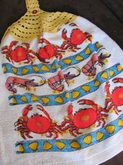 Kitchen Hand Towels - Seafood