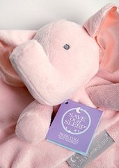 Save Our Sleep Comforter - Elzzie Elephant Pink