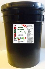 100 % Canadian Organic Hemp Seed Oil Cold Pressed 20 liters (Pail)