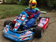 """BUY"" 1/2 Scale RC Go Kart - RTR"