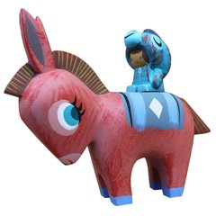Burro y Burrito resin set-sold out