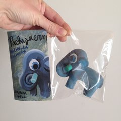 pachyderm mini resin figure-sold out