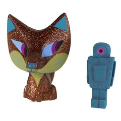 golden idol fox and robot-sold out