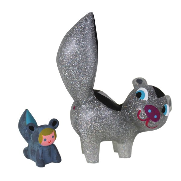 Stardust Skunk and Stinker resin set