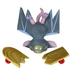 crash-land bat resin set